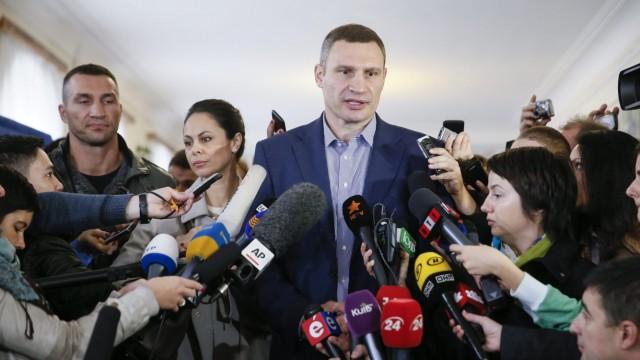 Ukraine local elections