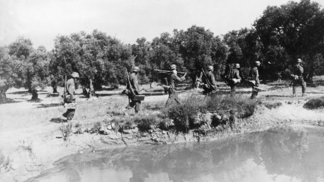 Gebirgsjäger auf Kreta, 1941