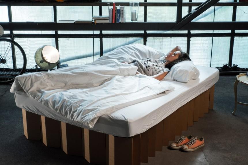 Room in a Box - Ein Bett aus Pappe - Stil - Süddeutsche.de