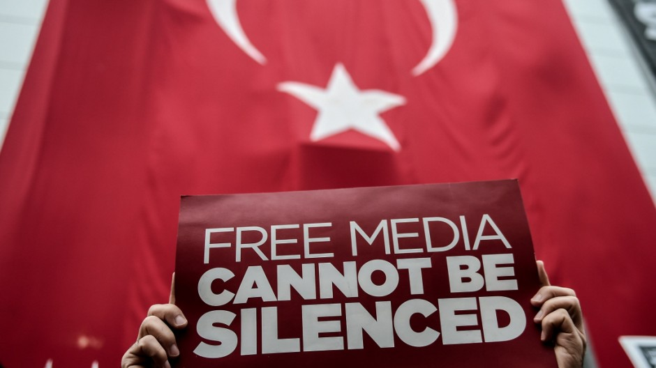 Anti-Regierungsproteste in Istanbul