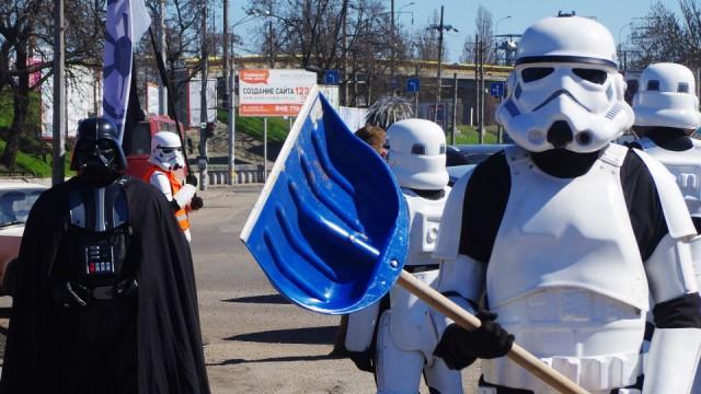 """Star Wars """"Star Wars""""-Hype in der Ukraine"""