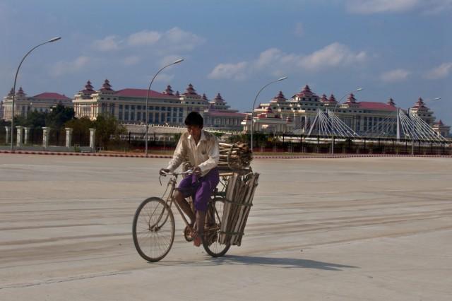 A Rare View Of Myanmar's Hidden Capital Naypyitaw