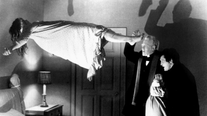 FILE PHOTO OF BLAIR AND VON SYDOW FROM THE EXORCIST