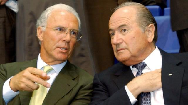 Beckenbauer und Blatter