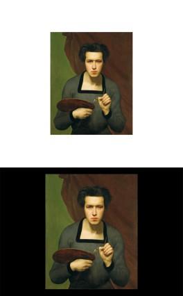 ICH BIN HIERVon Rembrandt zum Selfie - Ausstellung Staatliche Kunsthalle Karlsruhe