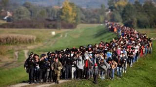 BESTPIX - Migrants Cross Into Slovenia