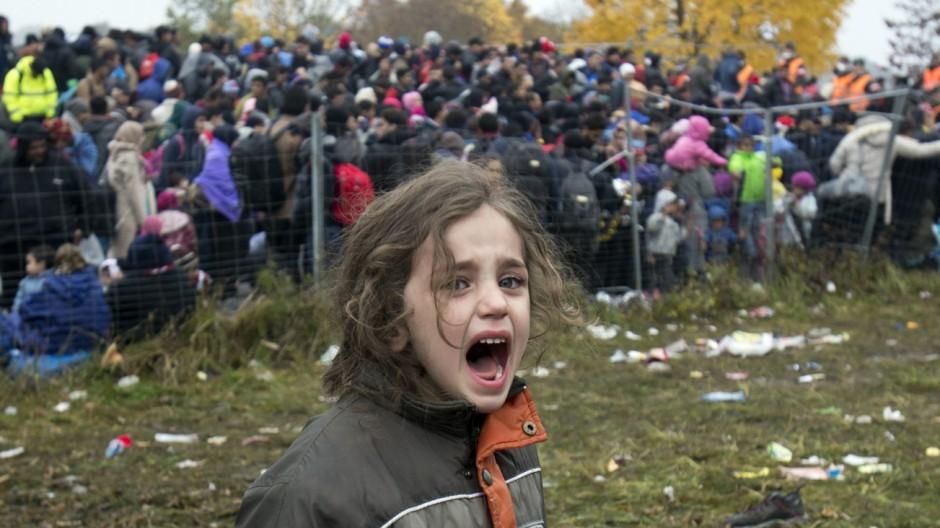 Flüchtlingspolitik Bilder der Flucht