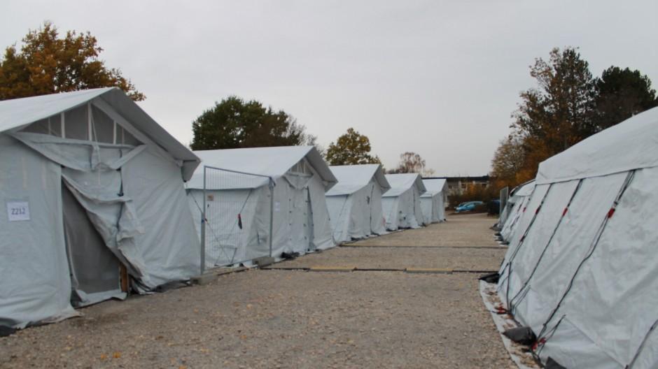 Flüchtlinge in Deutschland Flüchtlingslager