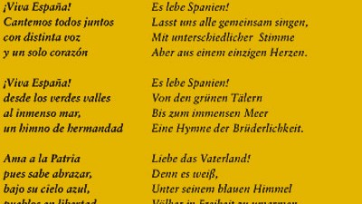 spanische nationalhymne