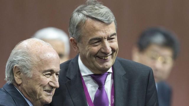 Niersbach und Blatter