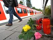Toter, Bahnhof Solln