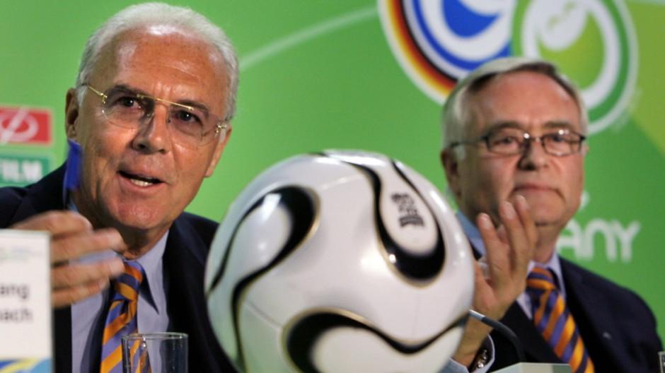 Horst R. Schmidt und Franz Beckenbauer