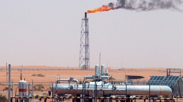 Khurais-Ölfeld in Saudi-Arabien Mehrwersteuer