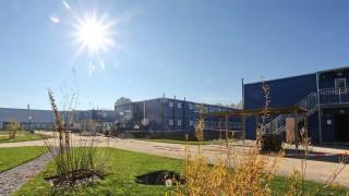 Freising Containerdorf für Flüchtlinge