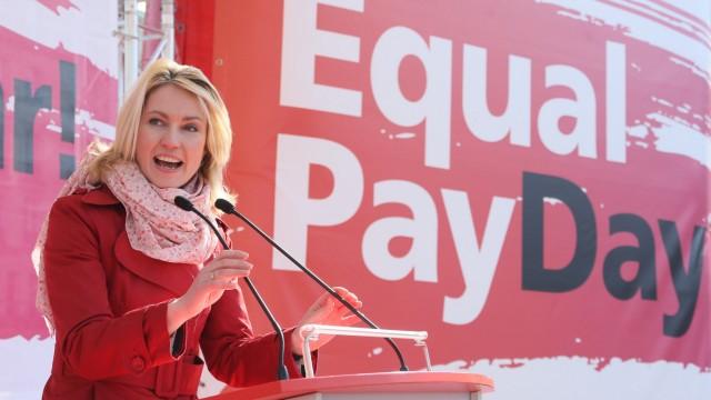 Aktion zum Equal Pay Day