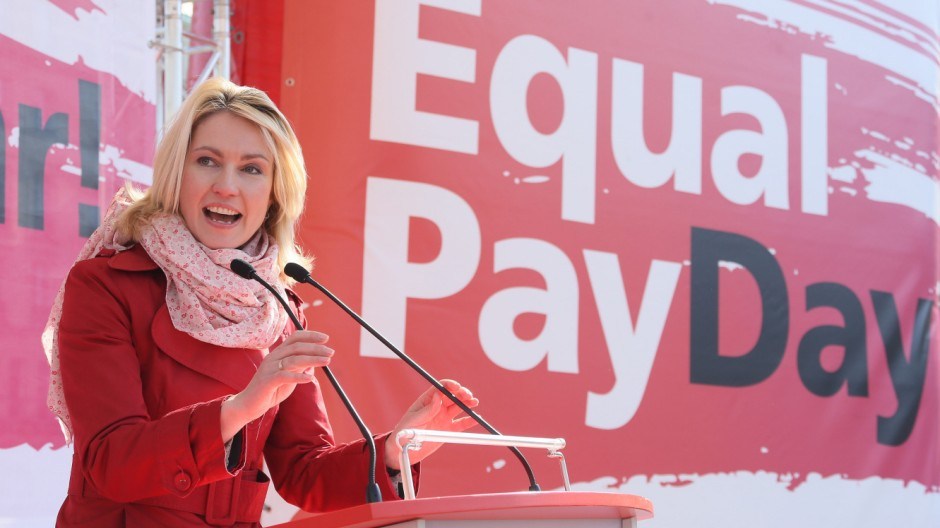 Aktion zum Equal Pay Day