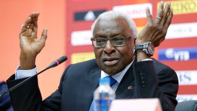 (FILE) Lamine Diack Under Investigation For Corruption