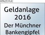 FlyOut Ad Geldanlage 2016 - Bankengipfel