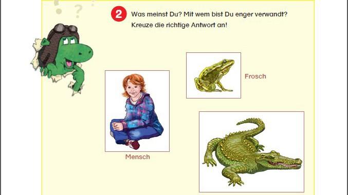 Lehrmaterial zur Evolution in der Grundschule