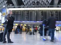 Streik bei der Lufthansa - Frankfurt
