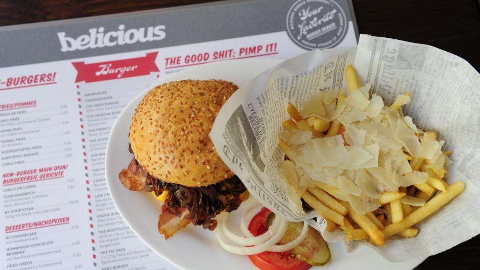 Bars Bar und Burgerladen Belicious