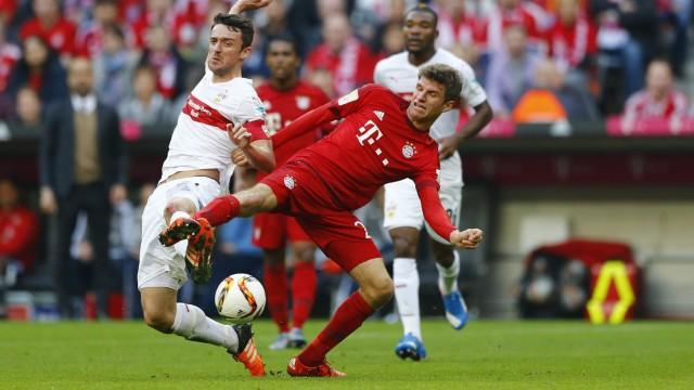 Bundesliga Pleite des VfB Stuttgart gegen Bayern