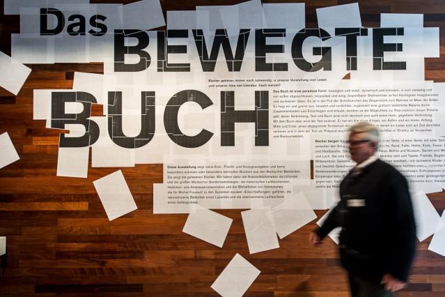 Ausstellung 'Das bewegte Buch'