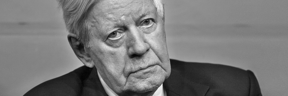 Helmut Schmidt NACHRUF - BITTE NICHT FREISCHALTEN Zum Tod von Helmut Schmidt