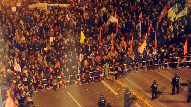 Pegida Anti-Pegida-Demo in München