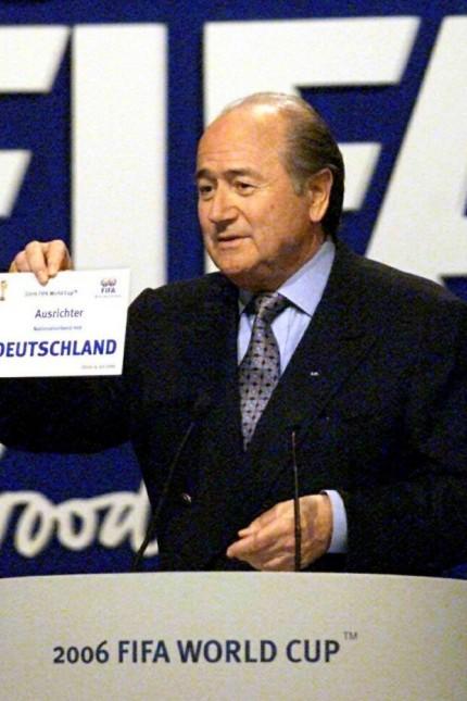 Vergabe Fußball-Weltmeisterschaft 2006