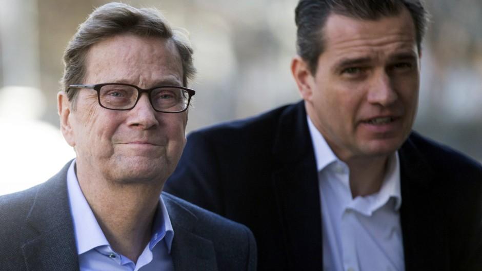 Guido Westerwelle und Michael Mronz