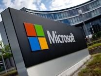 Nahles besucht Microsoft