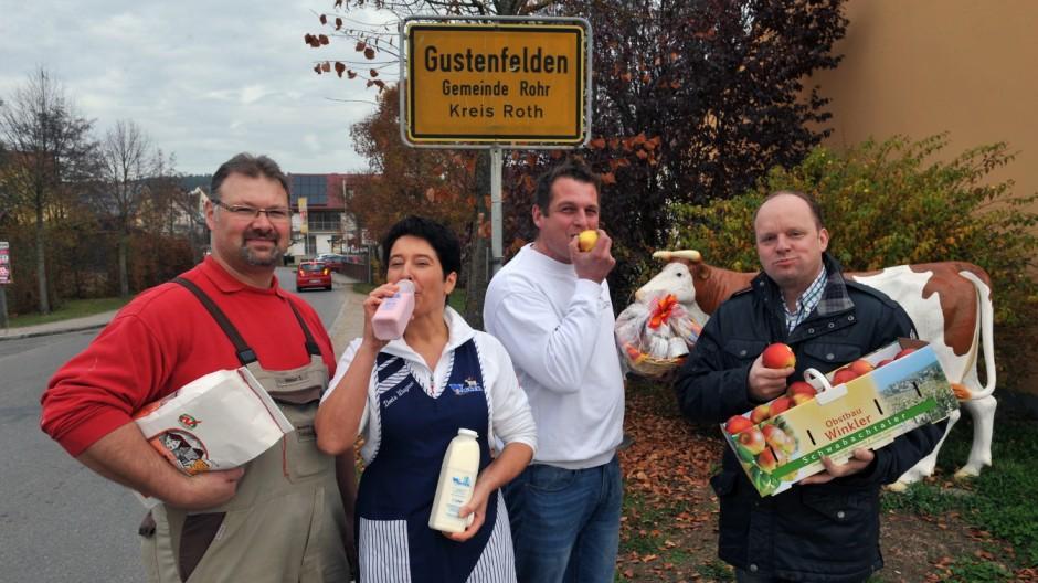 Ernährung Gustenfelden in Mittelfranken