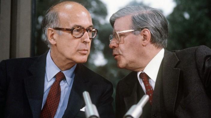 Schmidt und  Giscard d'Estaing