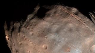 4astronomie Mars Mond Phobos Könnte Zerbrechen Wissen