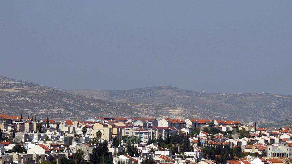 """Jüdische Siedlung """"Ariel"""" im Westjordanland"""