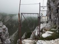 Zugspitze_Gatterl Grenze Österreich