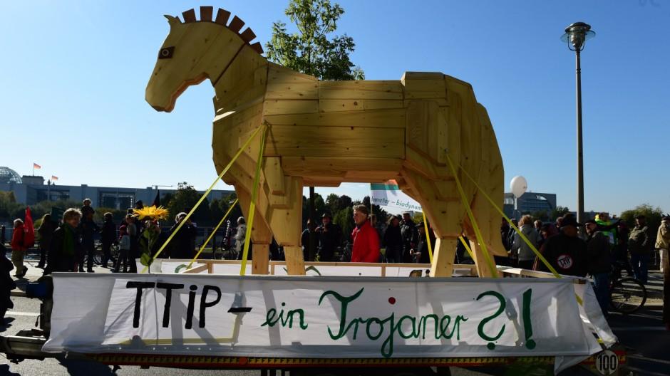 TTIP Transatlantisches Freihandelsabkommen