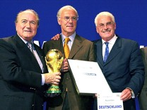 Beckenbauer at centre of World Cup affair