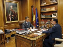 Spanish PM Rajoy meets party leaders on Catalonia secession