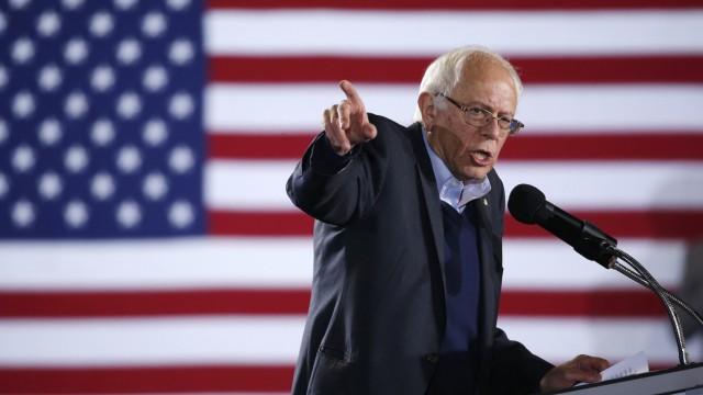 US-Wahl US-Demokrat Bernie Sanders