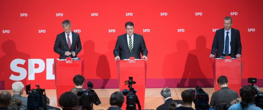 SPD-Kommunalpolitiker bei Gabriel