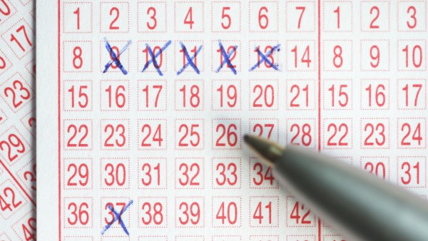 Fünfer-Reihe beim Lotto