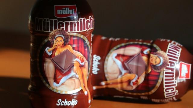 Müller-Milch Weihnachtsedition