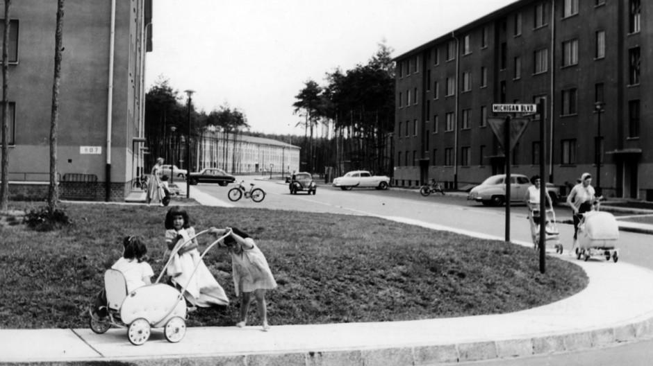 US-Wohnsiedlung in Ramstein