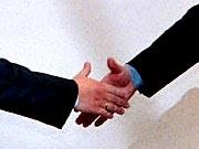 Shakehands Reiche Deutschland Beziehungen Reuters