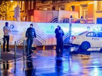 Festnahmen in Brüssel