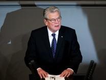 Joachim Gauck, Volkstrauertag