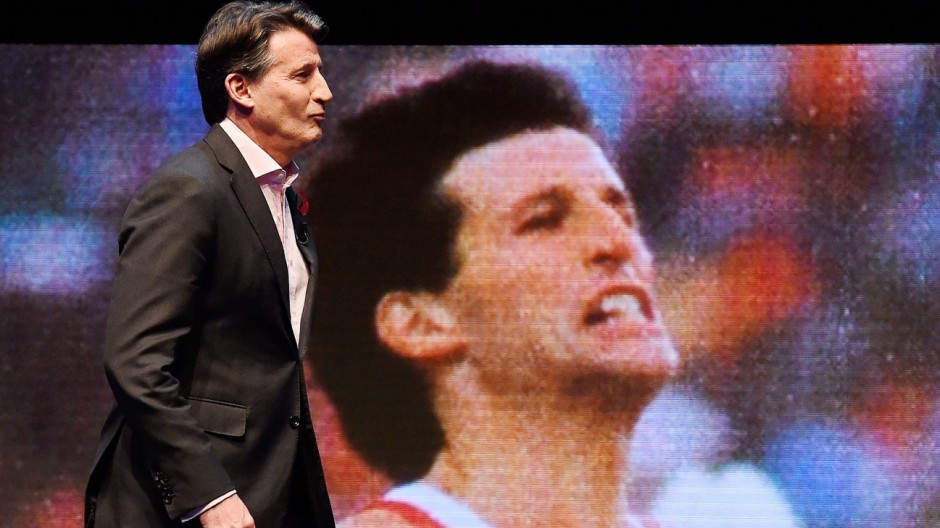 IAAF President Lord Sebastian Coe in London