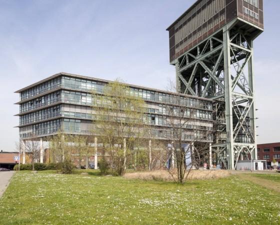 Germany North Rhine Westphalia Dortmund Eving Industrial Park former Coal Mine Minister Stein H